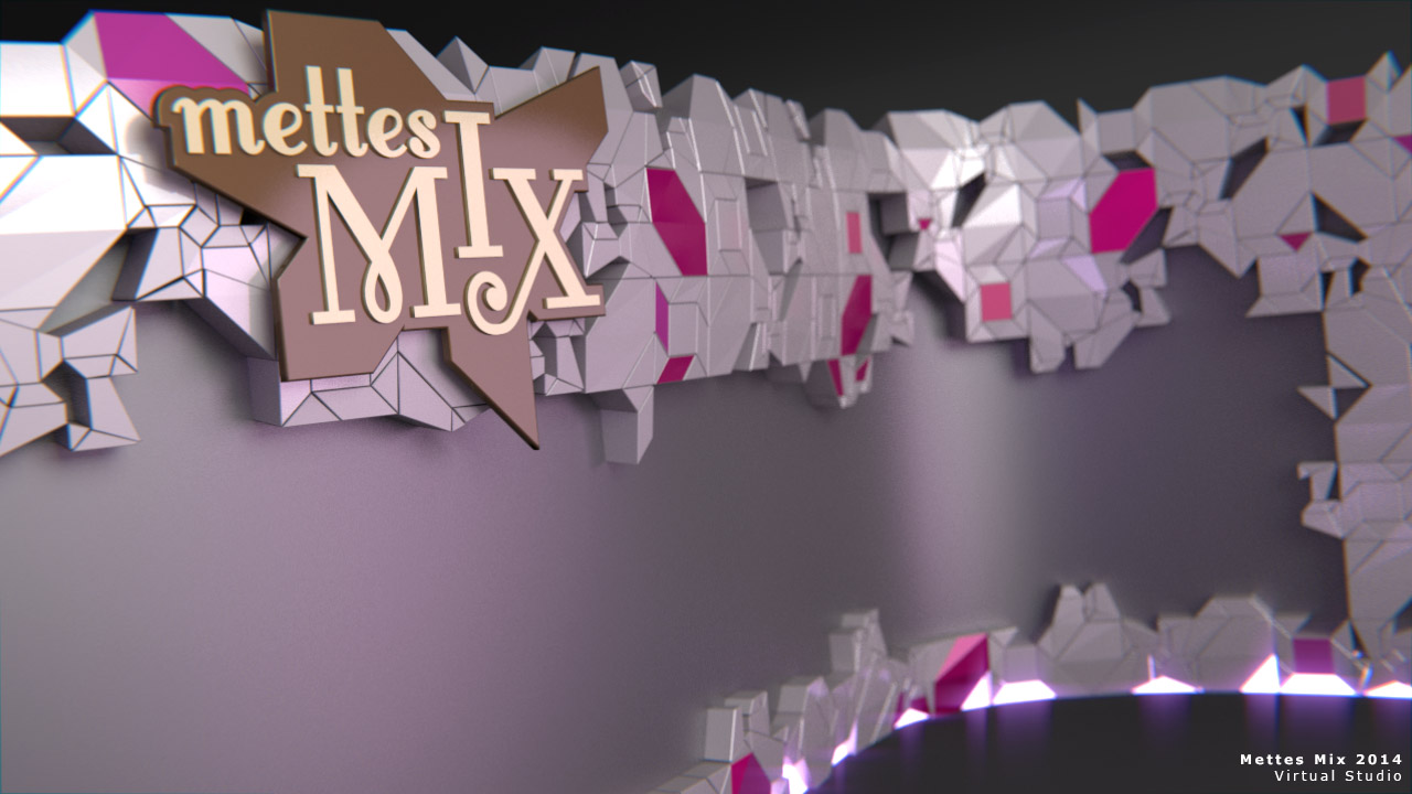 Mettes Mix 2014 - Grafisk produktion - Work in Progress