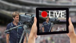 Live streaming er video direkte fra en event
