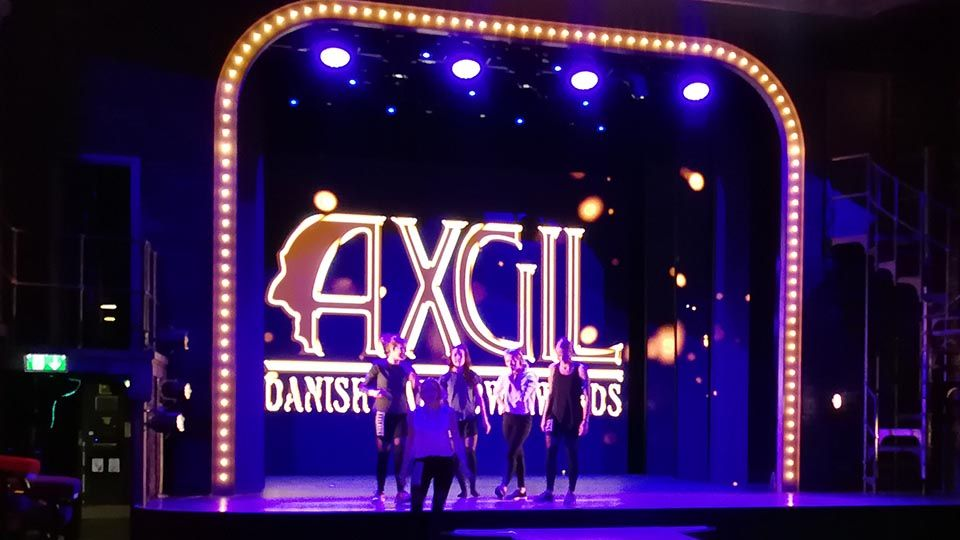 AXGIL Danish Award Show-2018, arrangeret af Rainbow Business Denmark