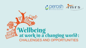 Logo from Wellbeing conference in Paris 2019