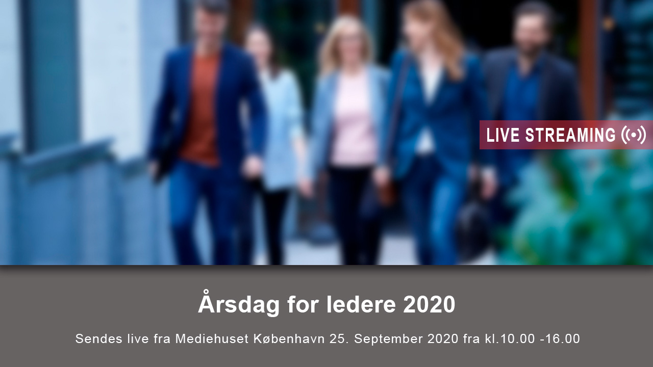Årsdag for ledere 2020
